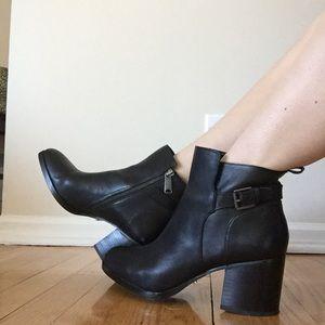 Ralph Lauren Black Booties